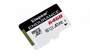Kingston Karta microSD  64GB Endurance 95/30MB/s C10 A1 UHS-I