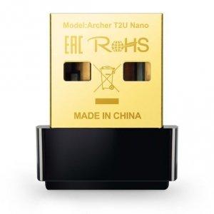 TP-LINK Karta sieciowa Archer T2U USB Nano AC600