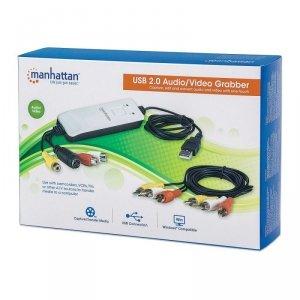 Manhattan Grabber Audio/Video Hi-Speed USB 2.0, NTSC/PAL/SECAM