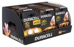 Duracell Zestaw baterii AAA/LR3 BL4 Basic -10szt, AA/LR6 BL4 Basic - 20szt, CR2032 BL2 - 7szt