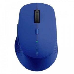 RAPOO Mysz bezprzewodowa 2.4Ghz+BT M300 Niebieska