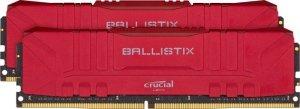Crucial Pamięć DDR4 Ballistix 16/3000 (2*8GB) CL15 RED