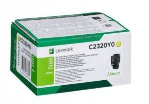 Lexmark Toner C2320Y0 yellow 1K