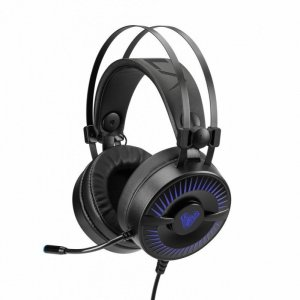 AULA Gaming Cold Flame słuchawki z mikrofonem dla graczy (z podświetleniem) PC / XBOX ONE /PS4
