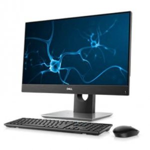 Dell Komputer Optiplex 5480 AIO/Core i5-10500T/8GB/256GB SSD/23.8 FHD Touch/Integrated/Adj Stand/Cam & Mic/WLAN + BT/Kb/Mouse/15