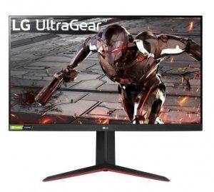 LG Electronics Monitor 31.5 cali 32GN550-B FHD UltraGear 165Hz 1ms MBR