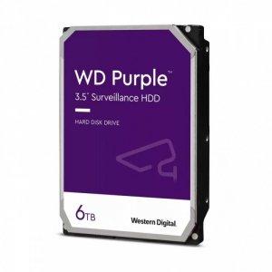 Western Digital Dysk WD Purple 6TB 3,5 128MB SATA 5640RPM WD62PURZ