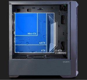 Zalman Obudowa Z8 MS ATX Mid Tower ARGB fan x3 Mesh