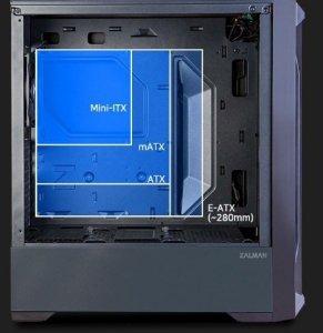 Zalman Obudowa Z8 TG ATX Mid Tower ARGB fan x3 TG