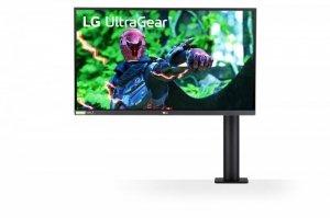 LG Electronics Monitor 27GN88A-B 27 cali Ultra Gear QHD 144Hz Nano IPS 1ms Ergo Gaming