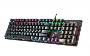 AULA Gaming Retribution Mechaniczna klawiatura dla graczy Niebieskie przełączniki