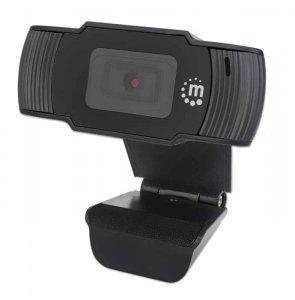 Manhattan Kamera internetowa USB HD + mikrofon