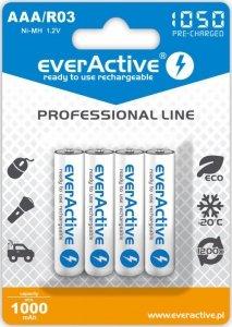 everActive Akumulatory paluszki R03/AAA 1000 mAH blister 4 szt.