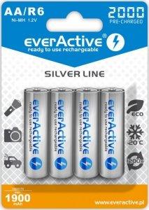 everActive Akumulatory paluszki R6/AA 2000 mAH, blister 4 szt.
