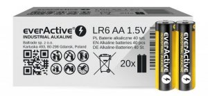 everActive Baterie paluszki LR6/AA 40 szt.