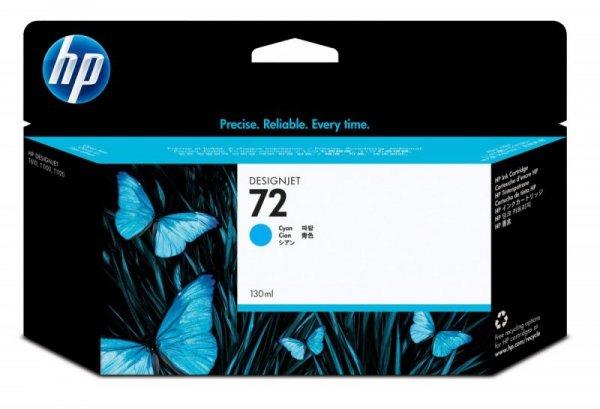 HP Inc. Tusz Nr 72 Błękitny (Cyjan) Fotograficzny 130ml C9371A