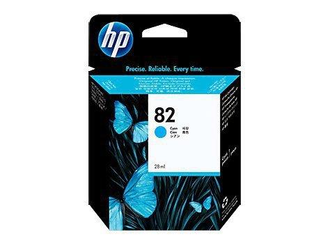 HP Inc. Tusz nr 82 Błękitny (Cyjan) C4911A