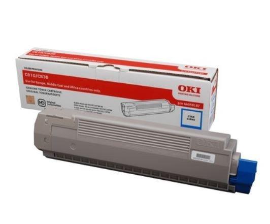 OKI Toner-C810/C830 CYAN 8K  44059107