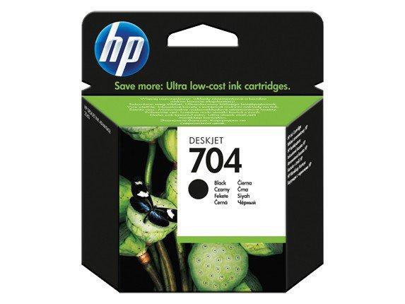 HP Inc. Tusz nr 704 Czarny CN692AE