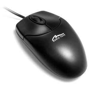 Media-Tech Mysz optyczna USB (MT1075KU) 800 dpi, 3 przyciski i rolka
