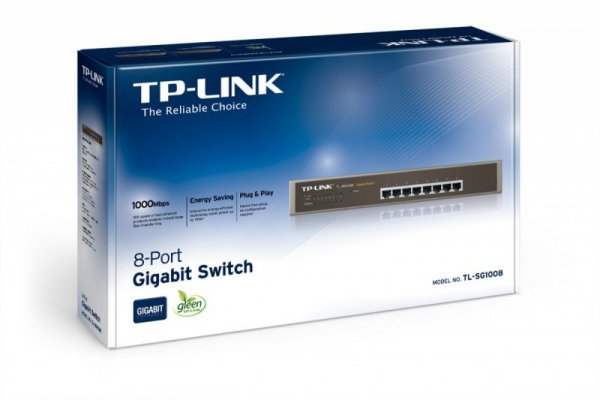 TP-LINK SG1008 switch 8x1GbE Desktop/Rack