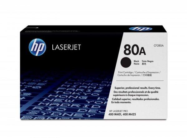 HP Inc. Toner 80A Black 2.7k CF280A