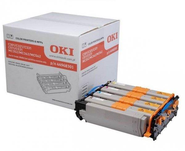 OKI Bęben CMYK do C301/321/5x1/MC3x2/562   44968301