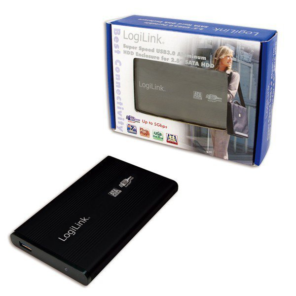 LogiLink Obudowa do HDD 2,5' SATA, USB 3.0