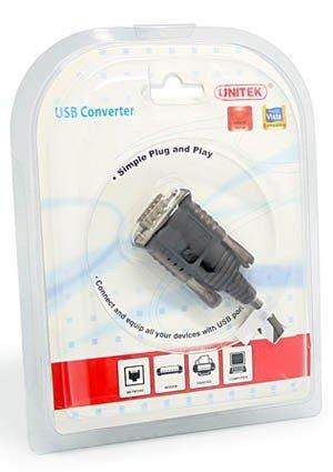 Unitek Adapter USB do Serial ; Y-108