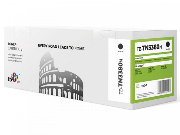 TB Print Toner do Brother TN3380 TB-TN3380N BK 100% nowy