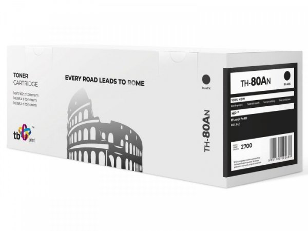 TB Print Toner do HP LJ Pro 400 TH-80AN BK 100% nowy