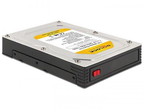 Delock Kieszeń HDD/SSD 3,5'' na dysk 2.5'' SATA