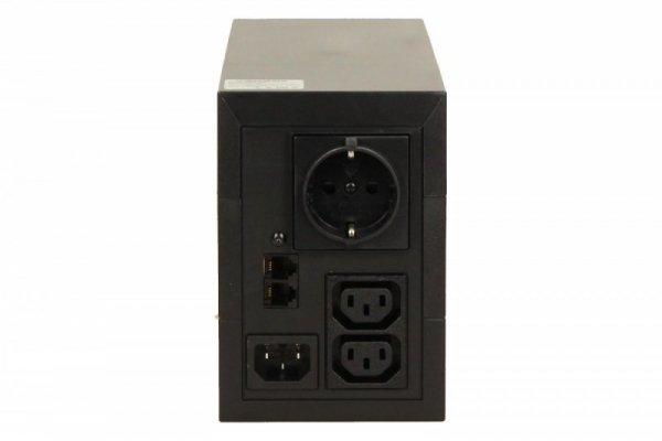 Eaton UPS 5E 850 480W 2xIEC 1xDIN USB 5E850iUSBDIN