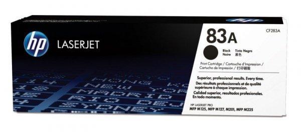 HP Inc. Toner 83A Black 1.5k CF283A