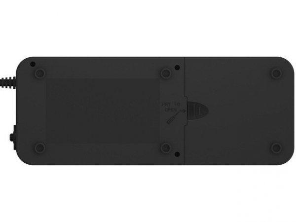 PowerWalker UPS  OFFLINE 600VA 6X 230V PL OUT APFC - Wygląd Listwy