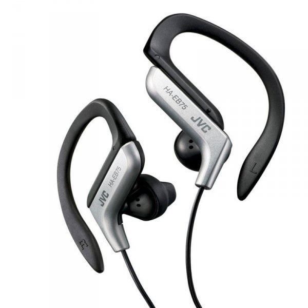 JVC Sportowe słuchawki HA-EB75-S-E SREBRNE