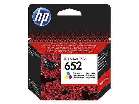 HP Inc. Tusz nr 652 Tri-colour F6V24AE