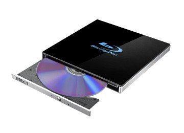 LiteOn Nagrywarka zewnętrzna EB1 Ultra-slim 4K BLU-RAY/DVD USB czarna