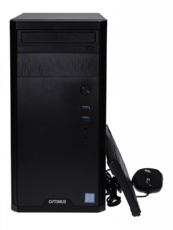 OPTIMUS Komputer Platinum GA520T Ryzen 5 Pro 4650G/8GB/240GB/DVD/W10P