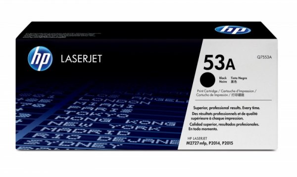 HP Inc. Toner do P2015 53A Czarny 3k Q7553A