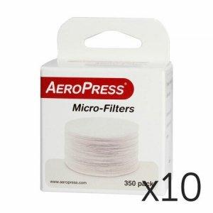AeroPress - Filtry papierowe - zestaw 10 szt.
