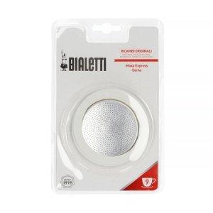 Uszczelki + sitko zamienne do kawiarek aluminiowych Bialetti 9tz