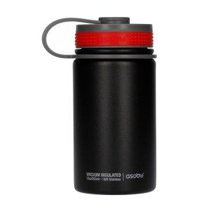 Asobu - Mini Hiker Czarny - Butelka termiczna 355 ml