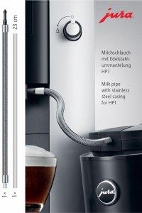 Przewód mleka z osłoną ze stali nierdzewnej HP3