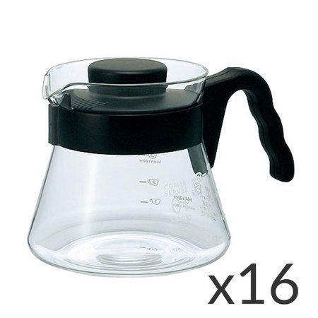 Hario Coffee Server V60-01 - 450ml - zestaw 16 sztuk