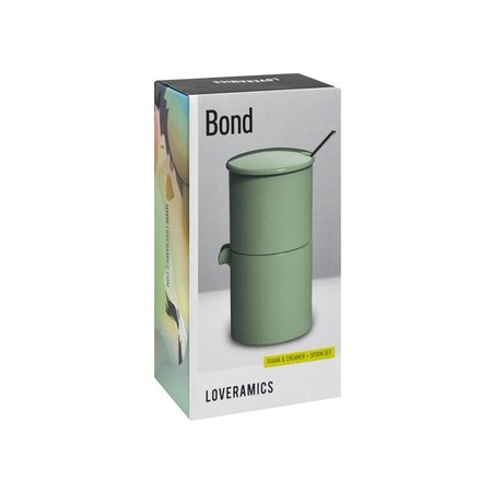 Loveramics Bond - Cukiernica + dzbanek na mleko + łyżeczka - Mint