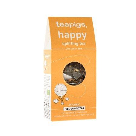 teapigs Happy - Uplifting Tea 15 piramidek