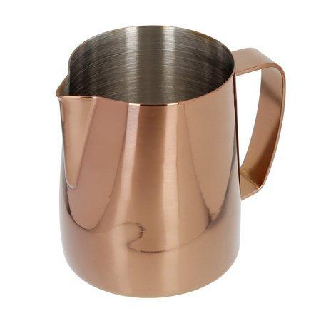 Barista Space - Dzbanek do mleka różowo-złoty 350 ml