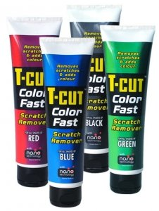 CARPLAN T-CUT COLOR FAST SCRATCH 150G CZERWONY