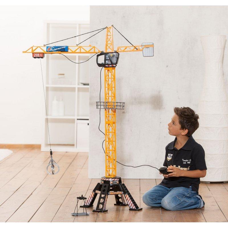 Dickie Dźwig zdalnie sterowany dla dzieci żuraw 120cm